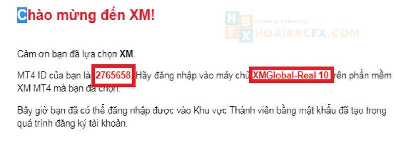 cách đăng ký tài khoản XM - bước 4-1