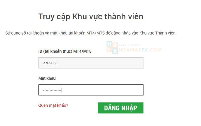 cách đăng ký tài khoản XM - bước 5